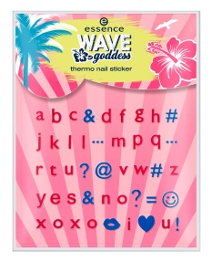 ess. wave goddess thermo nail sticker 01